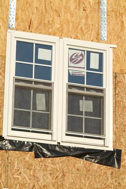 New construction impact hurricane windows